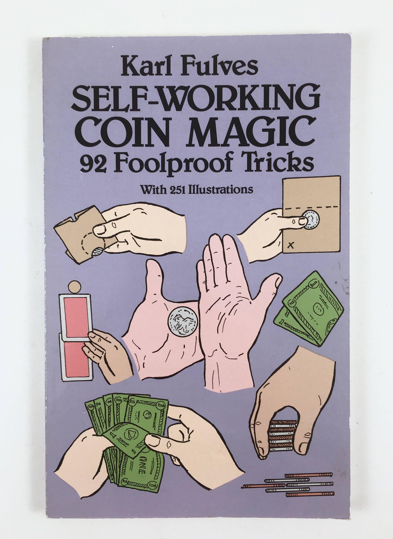 Coin Magic Book Vintage Paperback 92 Foolproof Magic Tricks Etsy Easy Magic Tricks Magic Book Easy Magic