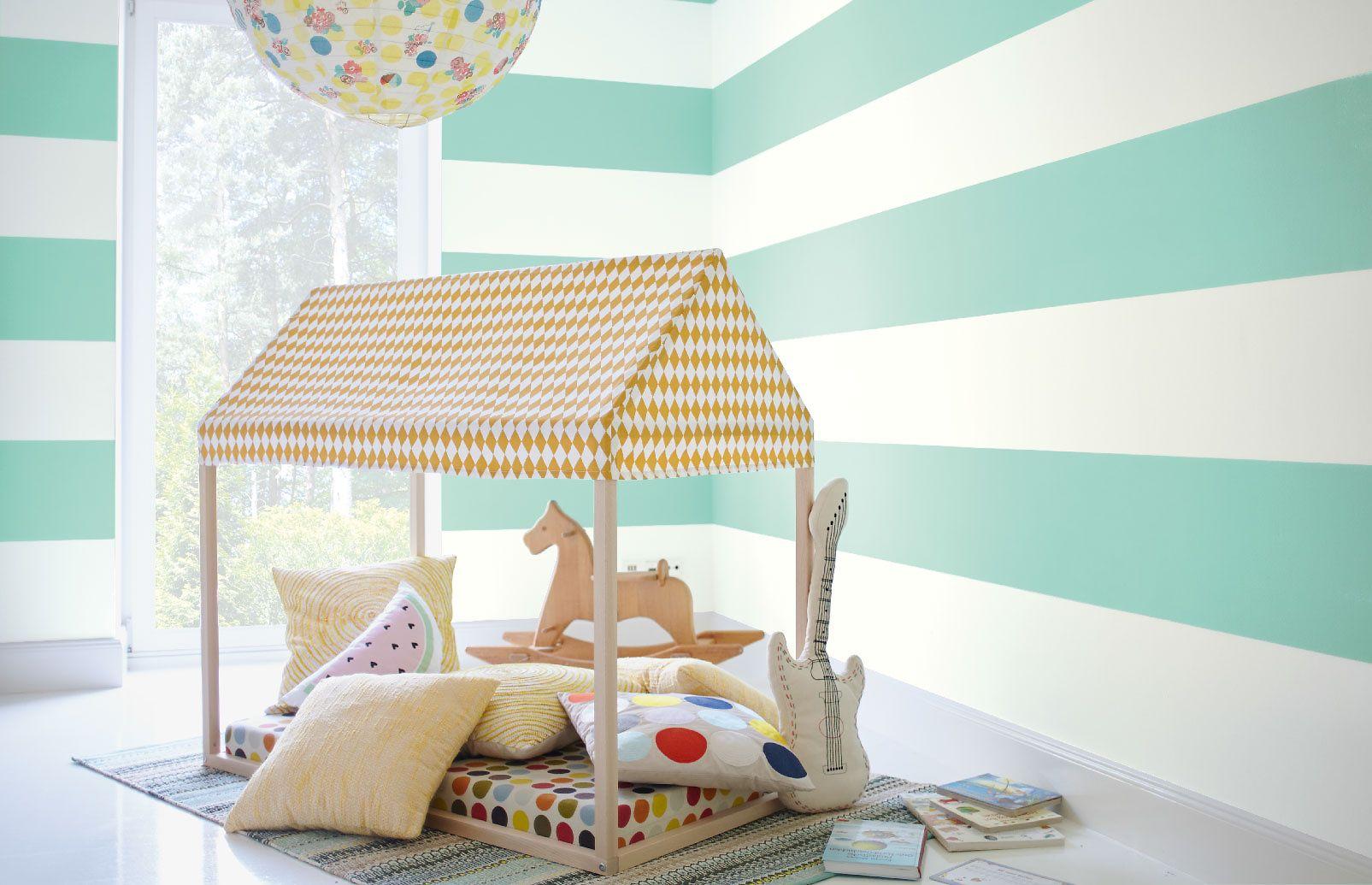 Nr. 19 Geckogrün Frisches Mint Kinderzimmer farbe
