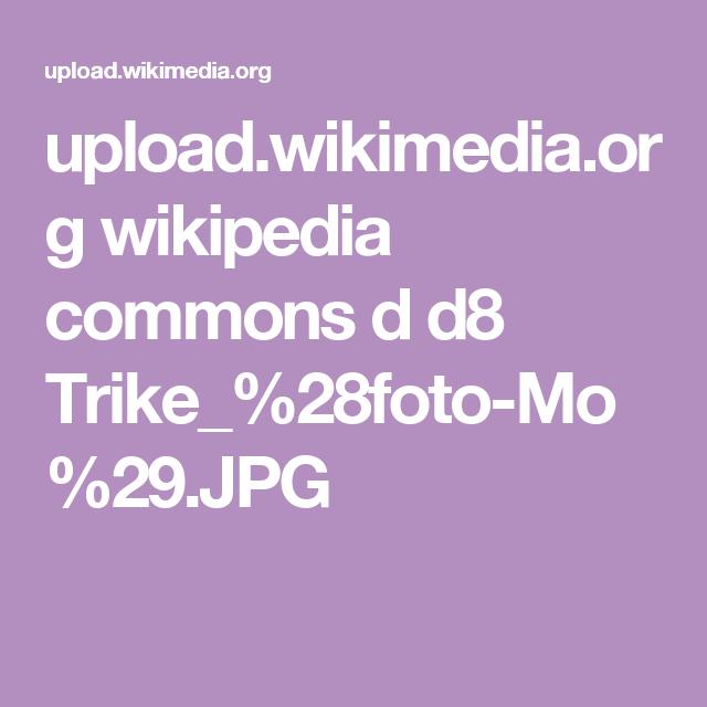 upload.wikimedia.org wikipedia commons d d8 Trike_%28foto-Mo%29.JPG