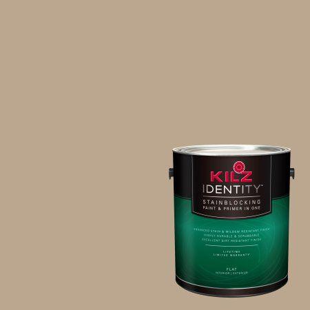 Kilz Identity Interior Exterior Stainblocking Paint Primer In One Ll230 Mochatini 1 Gallon Brown Products Paint Primer Painting Peeling Paint