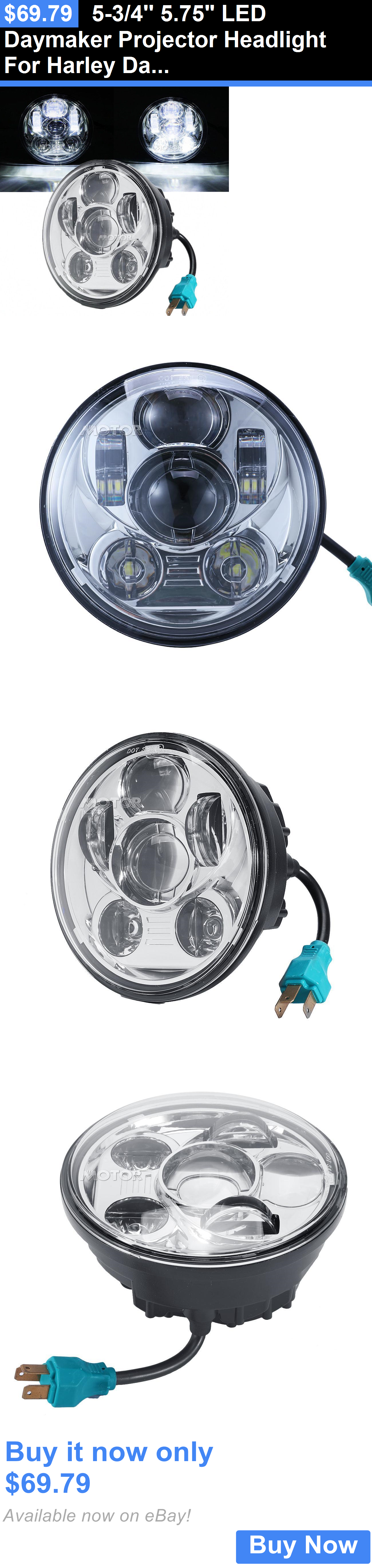 motorcycle parts: 5-3/4 5 75 Led Daymaker Projector
