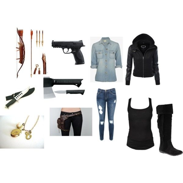 """zombie apocalypse outfit"" by mahonelife on Polyvore"