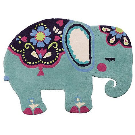 Erfly Home By Matthew Williamson Elephant Rug