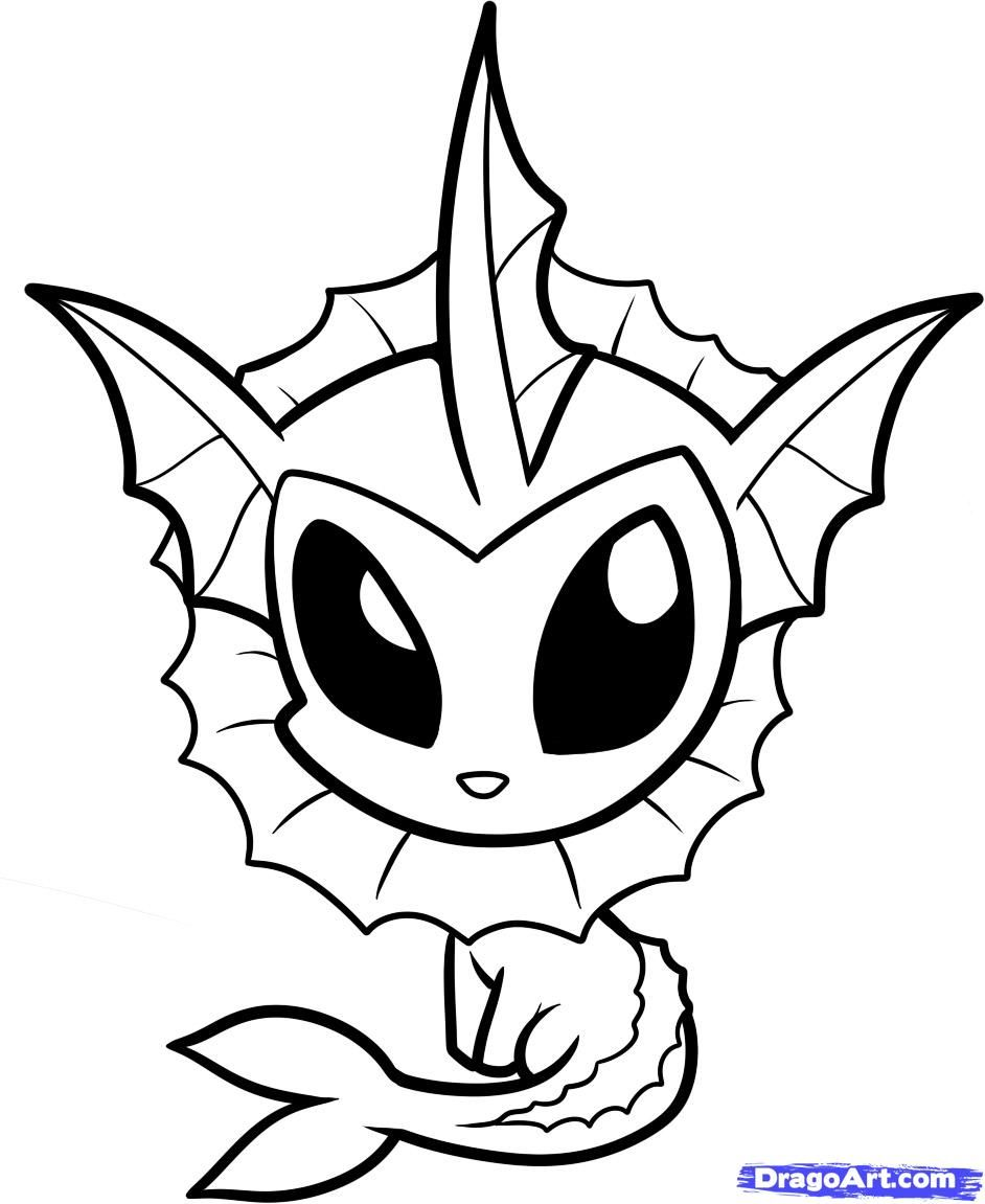Pokemon Chibi Colouring Pagescute Coloring Pages