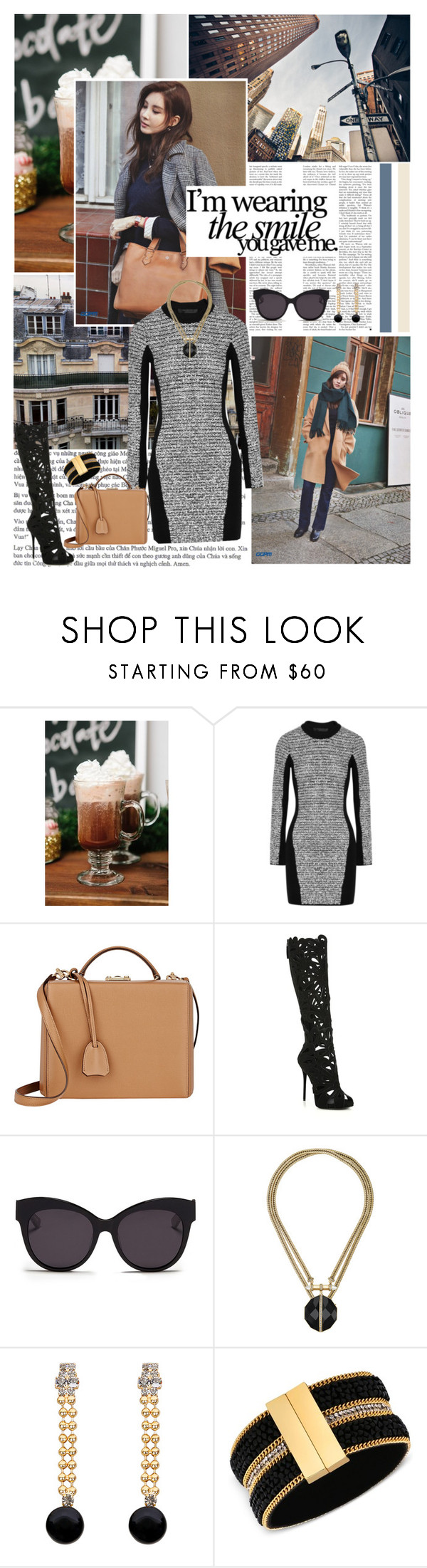"""I believe in you"" by ita-varela ❤ liked on Polyvore featuring Zara, Pottery Barn, Alexander Wang, Mark Cross, Giuseppe Zanotti, Blanc & Eclare, Chloe + Isabel, Marni and GUESS"