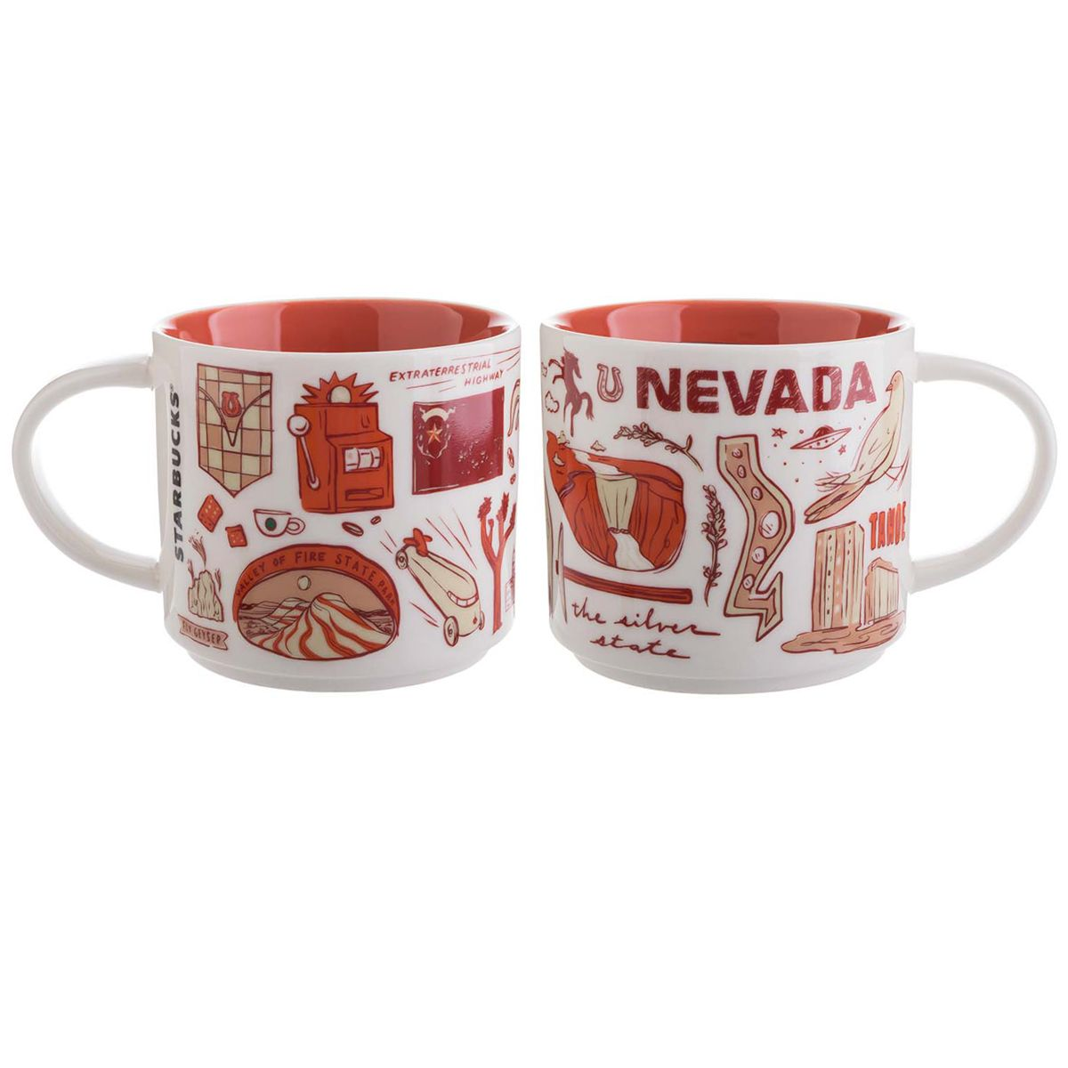 Nevada A Collectible Mug From The Starbucks Been There Collection Starbucks Mugs Best Starbucks Coffee Starbucks Lovers