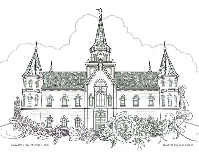 Free Coloring Book Page Lds Coloring Pages Coloring Book Pages