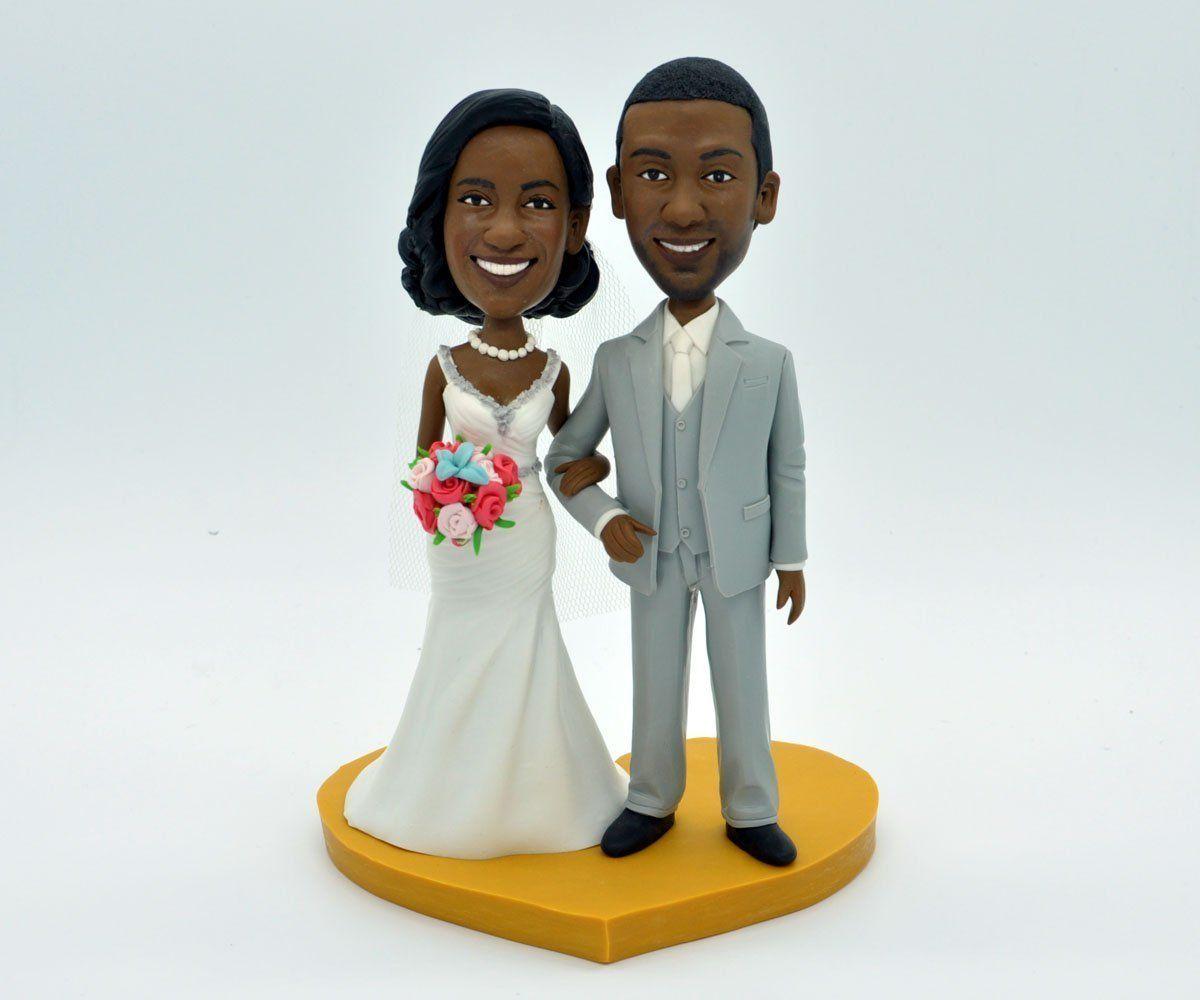 Wedding Cake Topper,Custom Wedding Cake Topper,Custom Bobbleheads ...