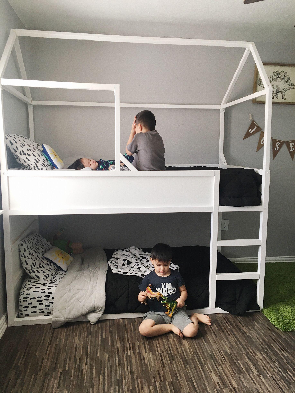Turn Your Ikea Kura Bed Into A Fun Bunk Kids Beds Cool