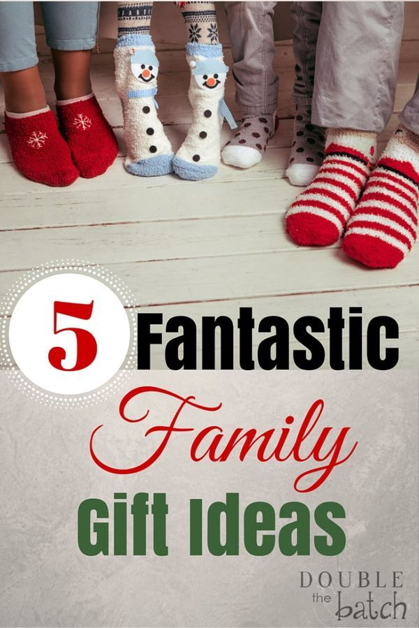 Five Fantastic Family Gift Ideas | Family gifts, Whole ...