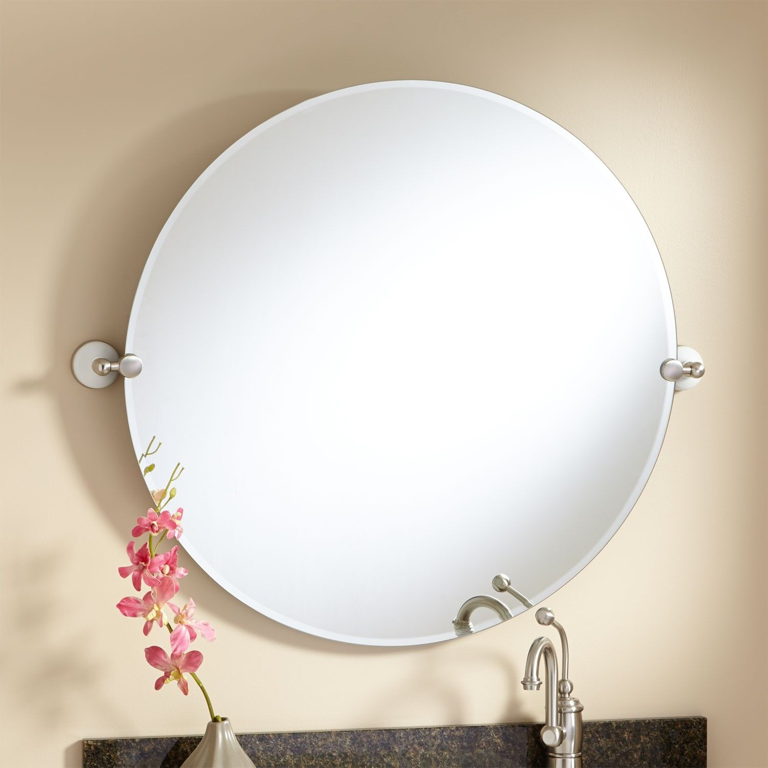 Round Tilting Bathroom Mirror Mirror Ideas Trim Around Tilting. 37 ...