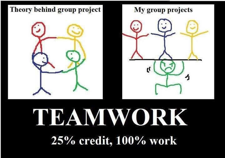 Group projects teamwork school merriment pinterest for Do my project