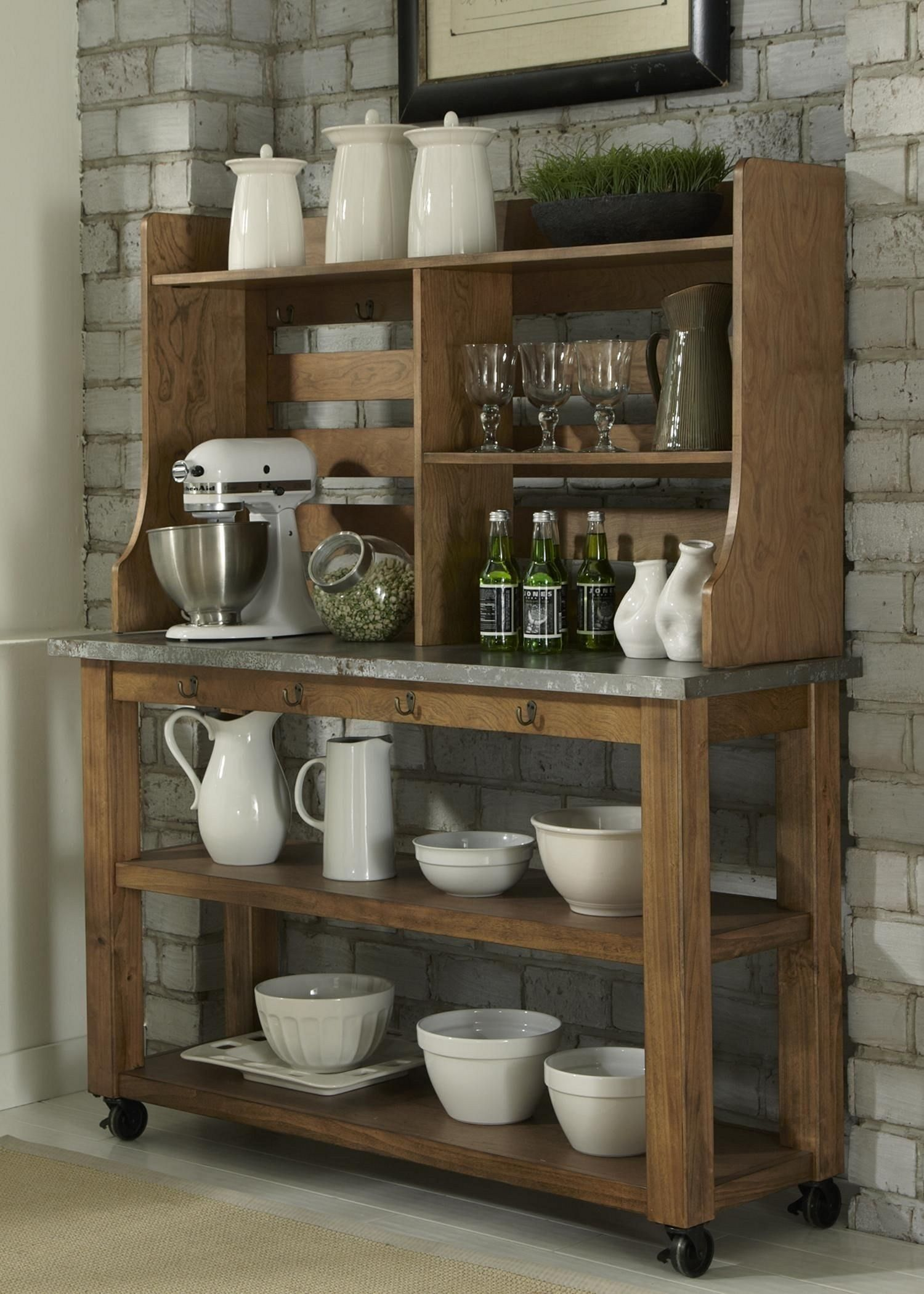 Awesome Industrial Kitchen Wood Rack Ideas You Must Try Teracee Wooden Shelves Kitchen Wooden Kitchen Bakers Rack Kitchen
