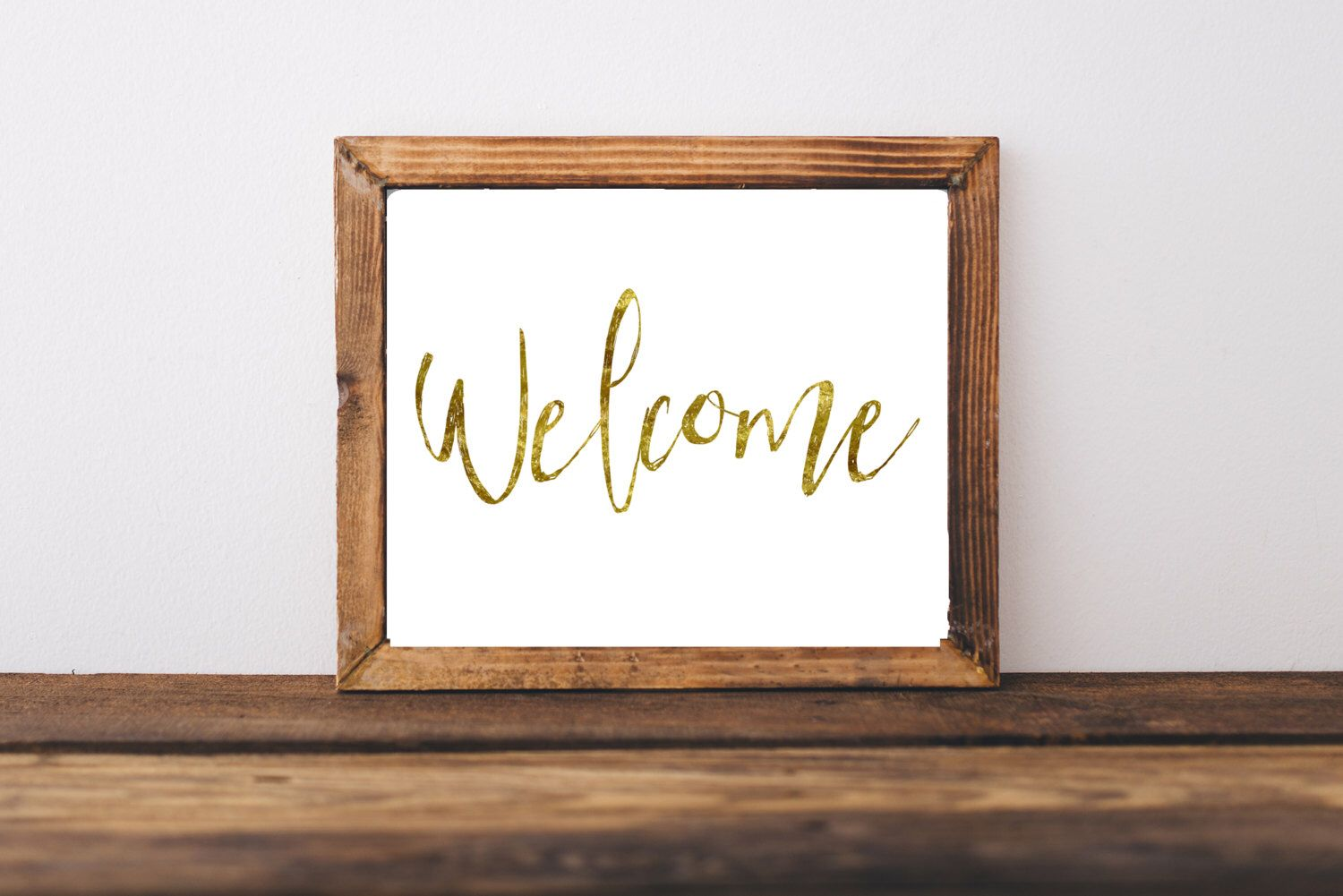 office welcome sign