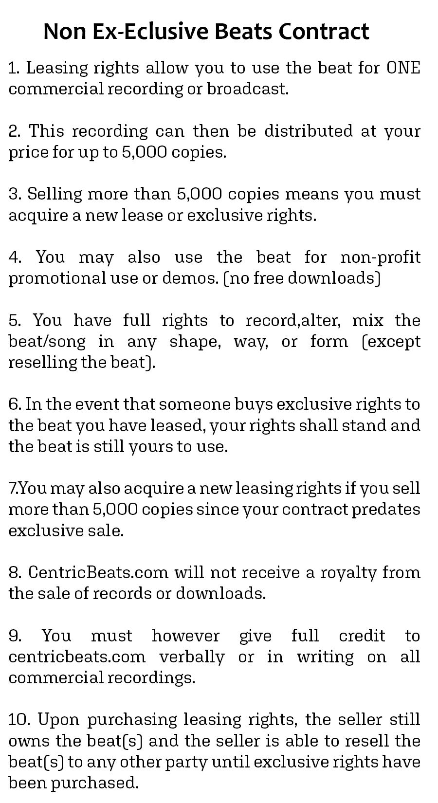 beat license beats contracts contract template 4 types contract contract template beats