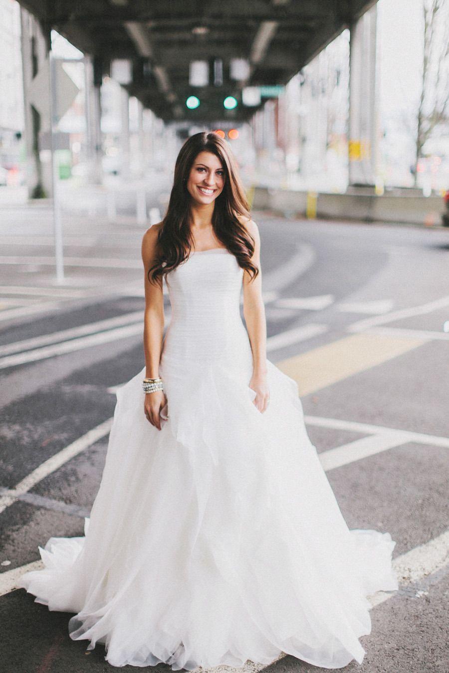 Urban Seattle Holiday Wedding | Wedding, Weddings and Wedding dress