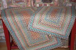 Medium Carnival Braided Rug