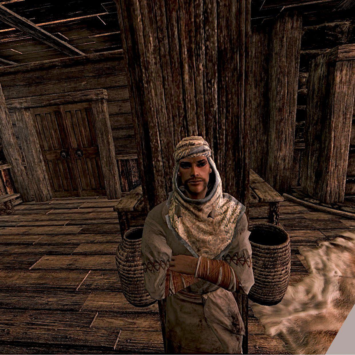 Better Redguard Alik'r Hoods at Skyrim Special Edition Nexus