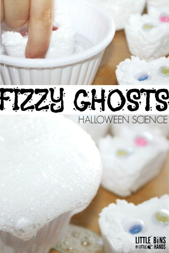 Ghost Science Halloween Activity Baking Soda Science   Halloween ...