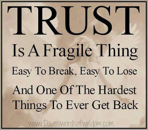 So Very True Trust Is Earned Not Given Learn People Quotes