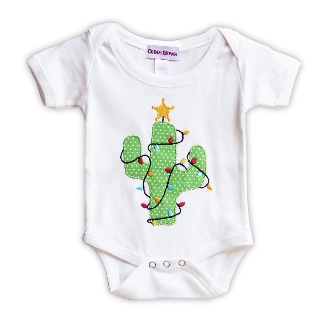 Cuddlestar - Christmas Cactus Infant Romper, $32.00 (http://www ...