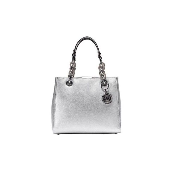 Michael Kors Leather Small Bag ($260) ? liked on Polyvore featuring bags,  handbags