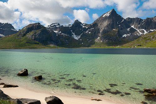 Flakstadøya Island. Norway.