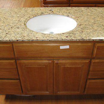 Bathroom Vanities Yelp 48''x21'' bathroom vanity $499 river oak & golden dream | yelp
