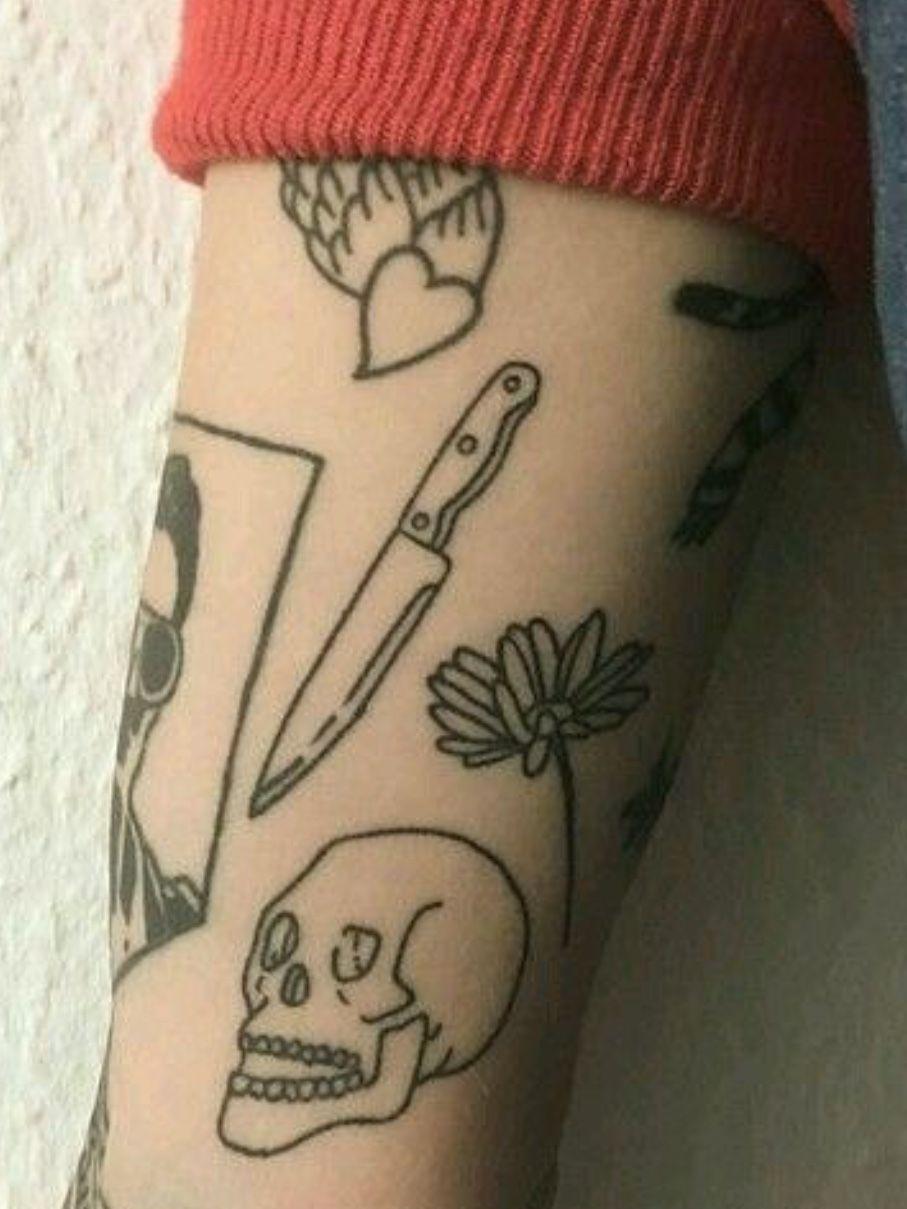 Edgy Tattoo Designs : tattoo, designs, Badvibes666, body, Tattoo, Ideen, Klein,, Kleine, Ideen,