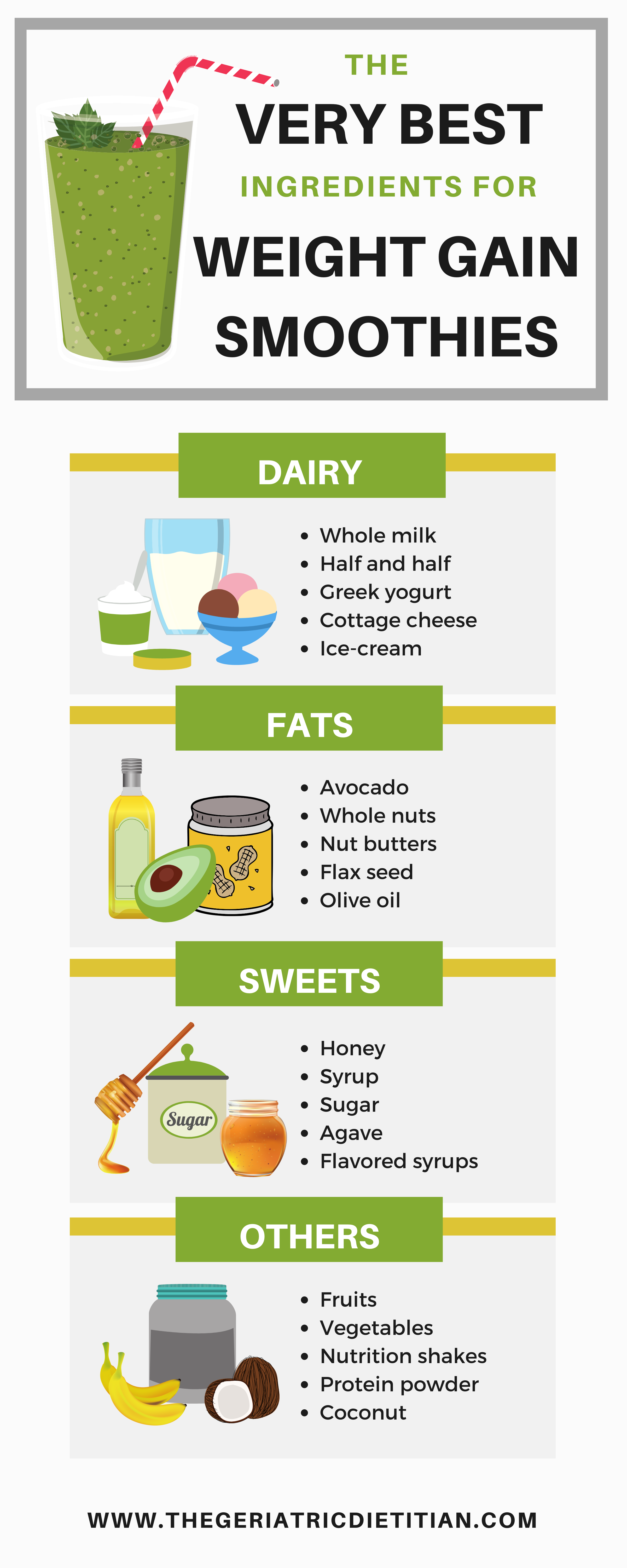 Pin on High Calorie Recipes