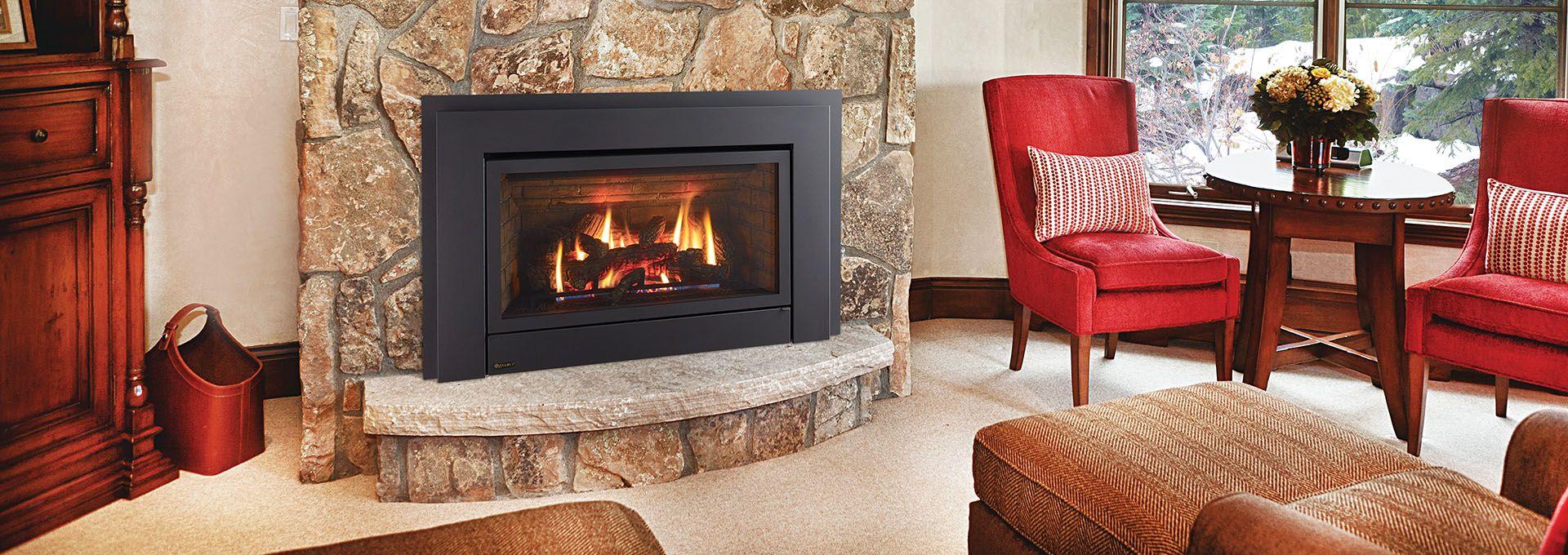 Energy E33 High Efficiency Gas Fireplace Insert Regency In