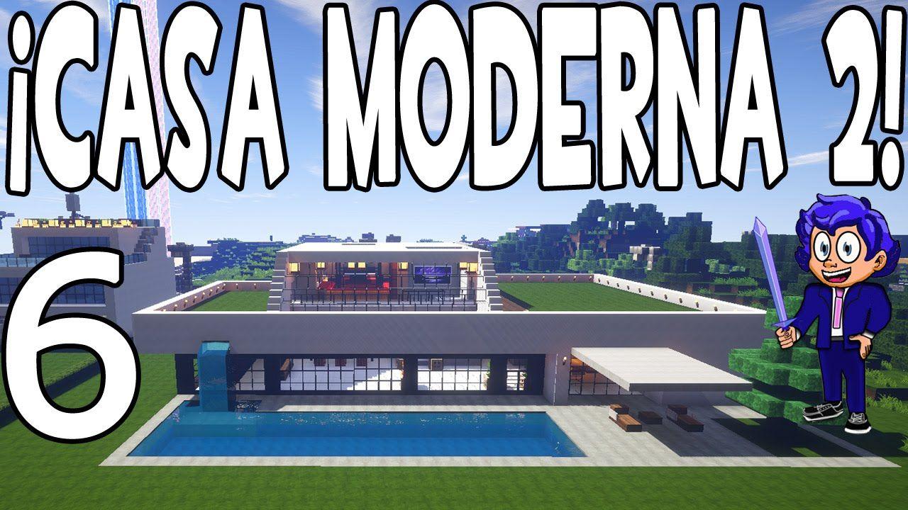 Casa 6 Y Exterior MinecraftParte Piscina Youtube Moderna En 2 PXiTkuOZ