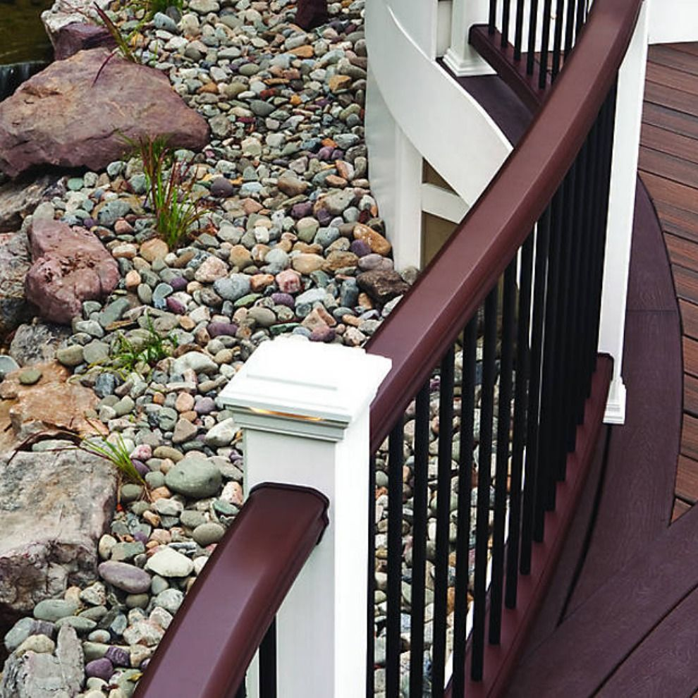 Composite and Aluminum Railing designs and colors ...