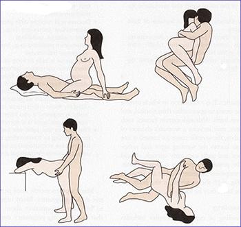 posturas sexo embarazo