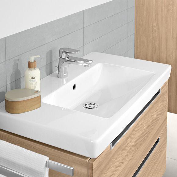 Villeroy Boch Subway 2 0 Vanity Washbasin White With Ceramicplus