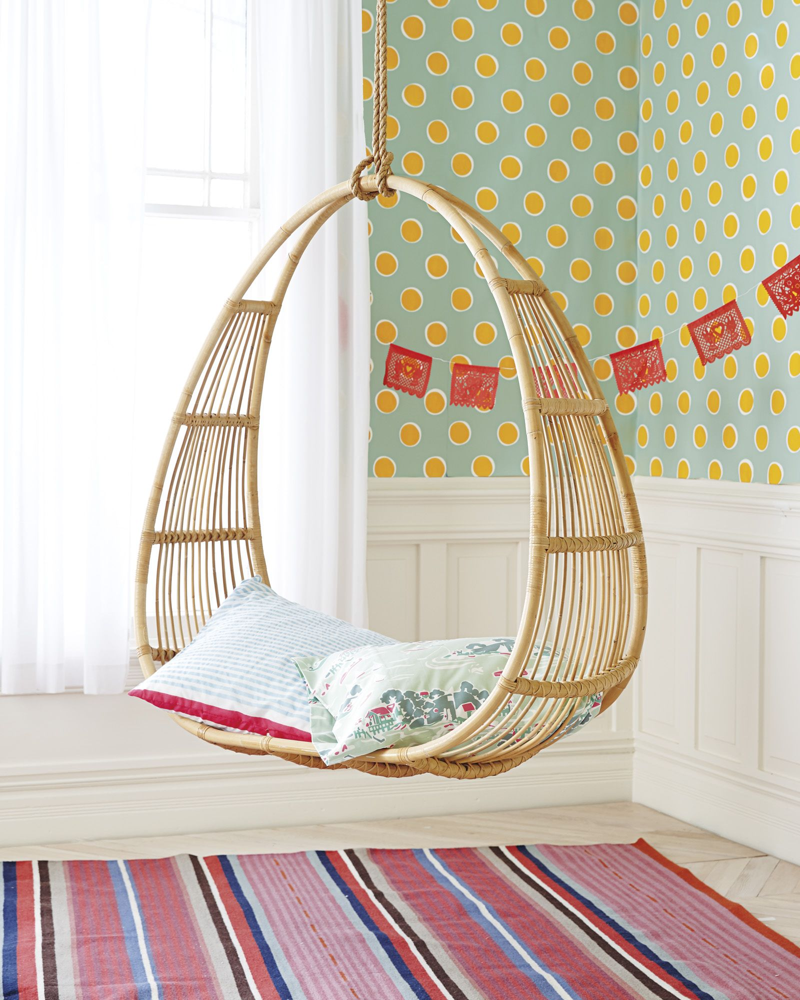 Circular Hanging Rattan Chair. The perfect hang out ...