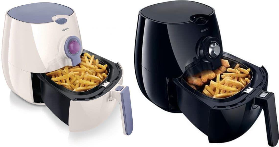 الفرق بين قلاية فيليبس السوداء والبيضاء قلاية فيليبس بدون زيت Best Air Fryers Food Breakfast