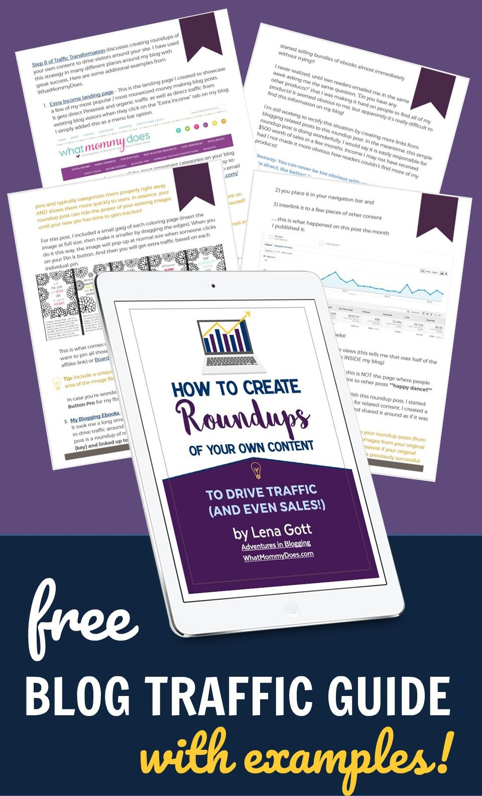 How To Increase Your Blog Traffic Using Content You Already Have Free Traffic Guide Blog Traffic Free Blog Traffic How To Start A Blog