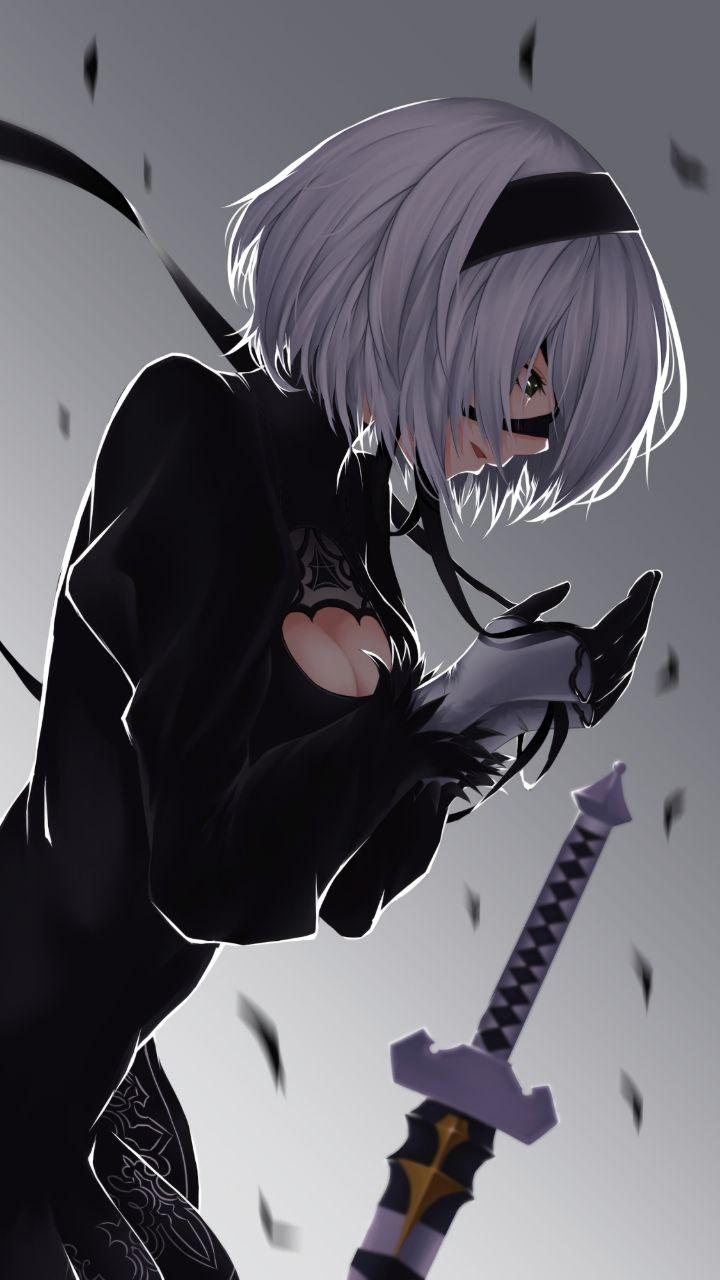 Wallpaper Nier Automata Nier Automata Anime Anime Art