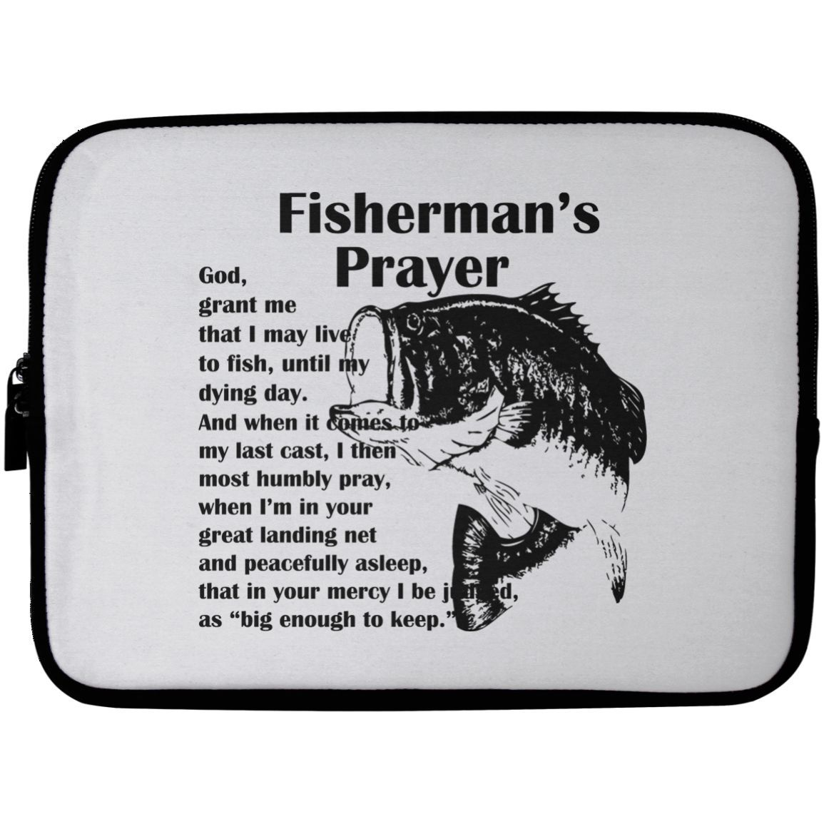 Fishermans Prayer Laptop Cases