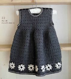Love this dress! Shoild definetly make one. Japanese crochet charts