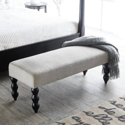 Pin by Kiki Lansdale on Master Bed | Upholstered bench ...