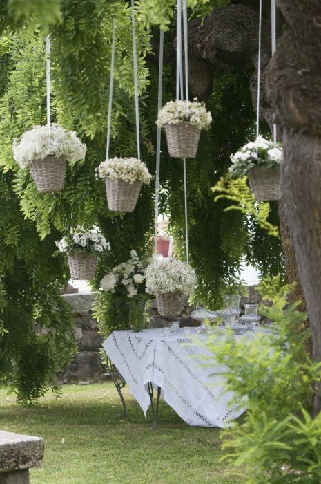Bellissima idea per chi si sposa in giardino