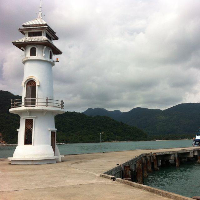 Bang Bao Lighthouse, Koh Chang, Thailand.