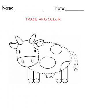 Give A Like For Free Printable Cow Templates Simply Download And Print Its That Easy