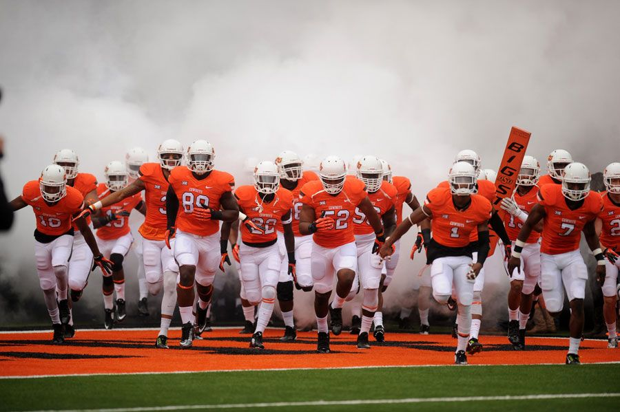 Pin By Schwab Meat Co On Game Day Tailgate Oklahoma State University Sports Baseball Field