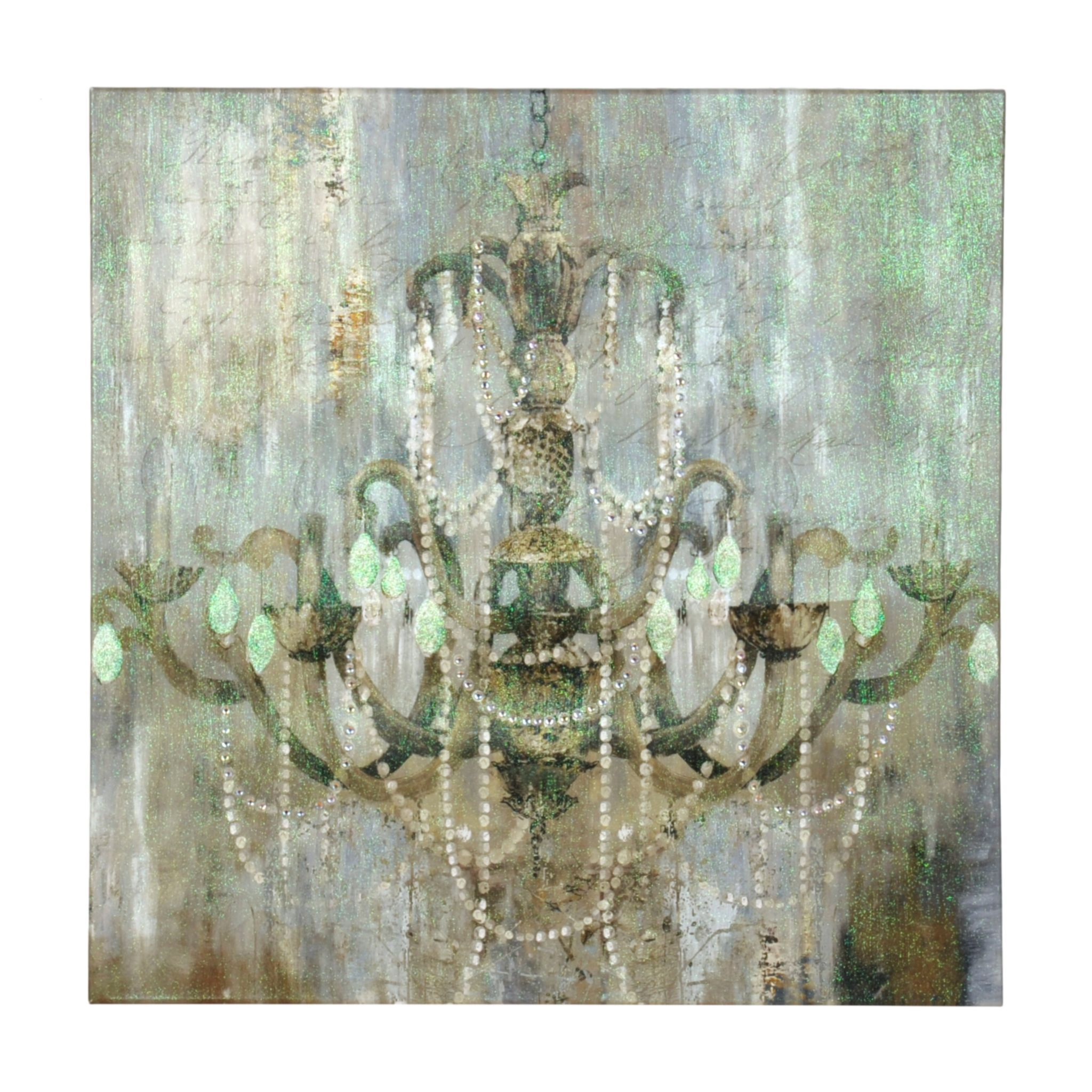 wood on art canvas stretched amazon decoration wall chic silver chandelier com decorpiece deep bars posters dp prints over