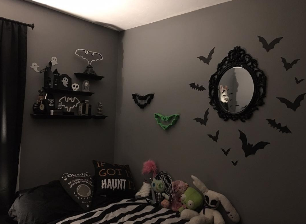 Awesome Goth Bedroom Decor Elegant Goth Bedroom Design Ideas For Calm Atmosphere Goth Bedroom Gothic Bedroom Goth Home Decor