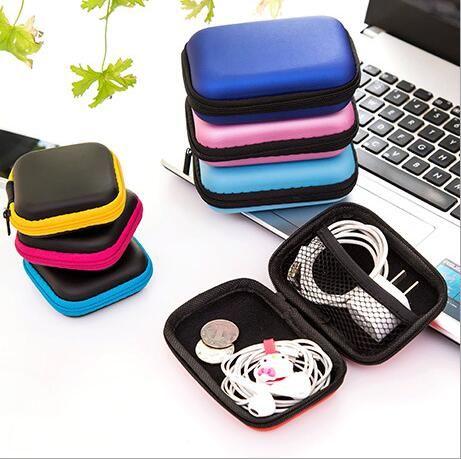 Kopfhörer Draht Aufbewahrungsbox Zipper Schutzhülle Datenleitung ...