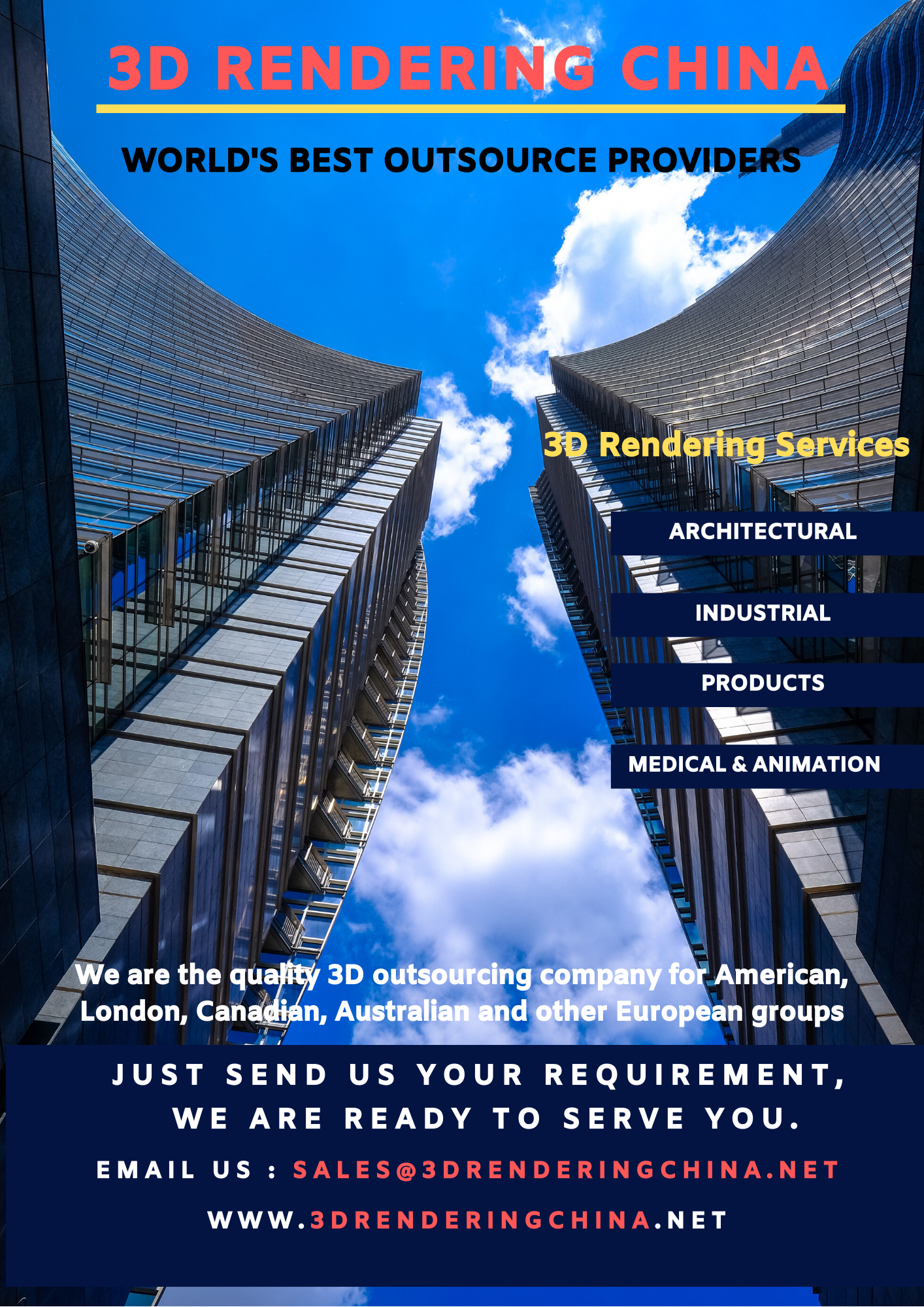 Worldwide best and fastest 3d Rendering outsource